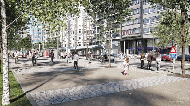 Comment le tram va impacter l'immobilier liégeois