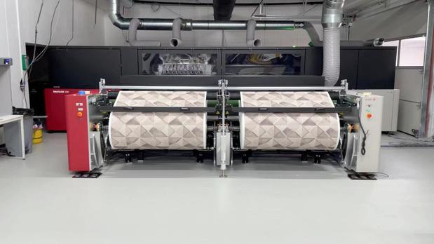 Chiyoda installeert InterioJet 3300 inkjetprinter van Agfa in Genk