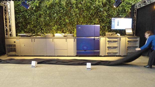 Première pour le Benelux de l'imprimante de production à 140 ppm de Konica Minolta