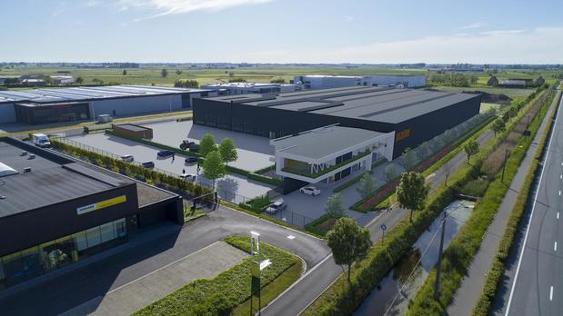 Familiebedrijf Dezeure investeert in nieuw en groter gebouw in Oude Barriere in Diksmuide