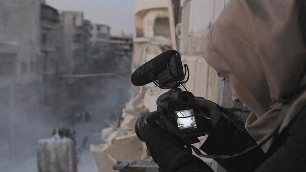 Waad al-Kateab, la vie sous les bombes