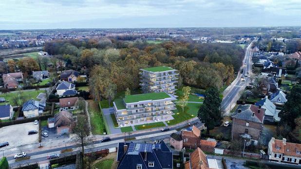 Steenhuyse bouwt Park Residence Flower op site tuincentrum Missiaen in Izegem