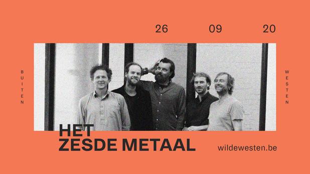 Het Zesde Metaal speelt groots concert voor 1.000 bezoekers in Kortrijk