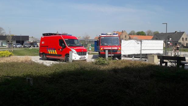 Brandweerkorps Diksmuide steunt personeel wzc De Zilvervogel