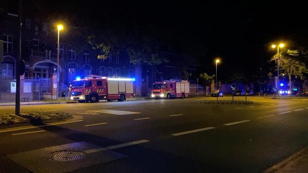 Vals alarm in gebouwen voormalig Sint-Jozefskliniek in Brugge