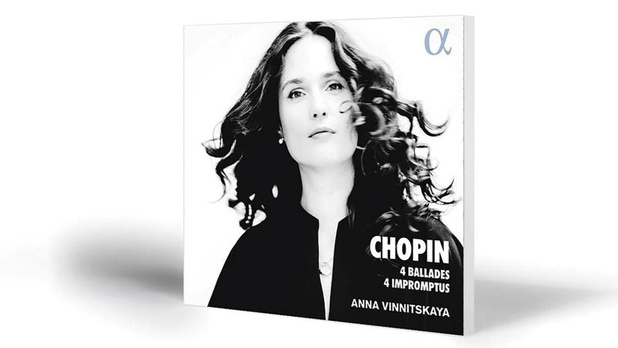 Anna Vinnitskaya - Chopin 4 Ballades/Impromptus - Alpha 728