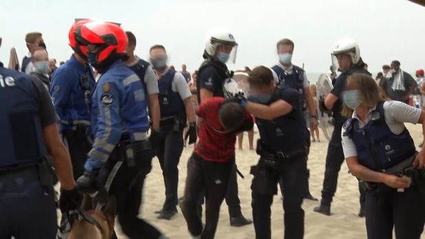 Verdachte van rellen in Blankenberge komt vrij onder voorwaarden