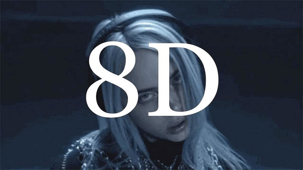 2. Luister Billie Eilish in 8D