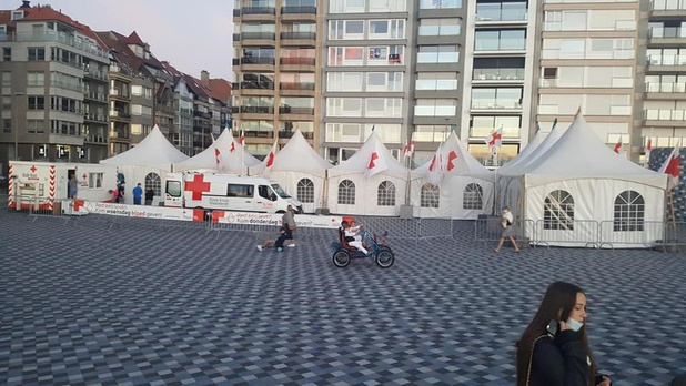 Rode Kruis organiseert coronaveilige bloedinzamelingen