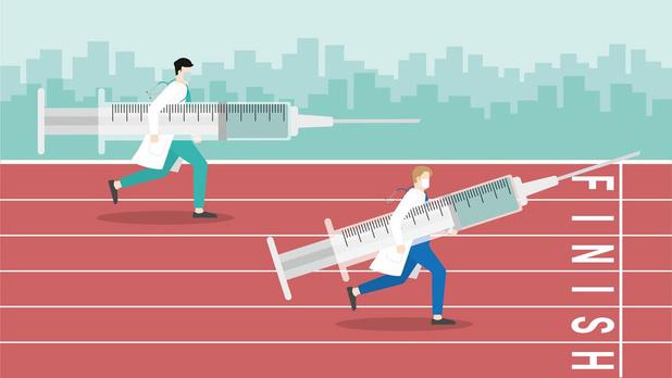 De race naar een covid-vaccin: nog zo gek niet
