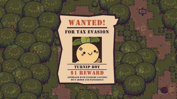 [le jeu de la semaine] Turnip Boy Commits Tax Evasion: fous et usage de fous