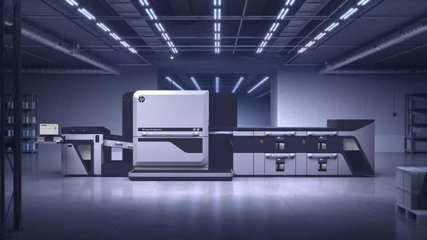 HP Indigo onthult nieuwe persen