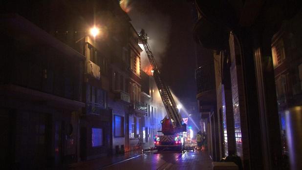 Brand in Nieuwstraat werd aangestoken, nog geen verdachten opgepakt