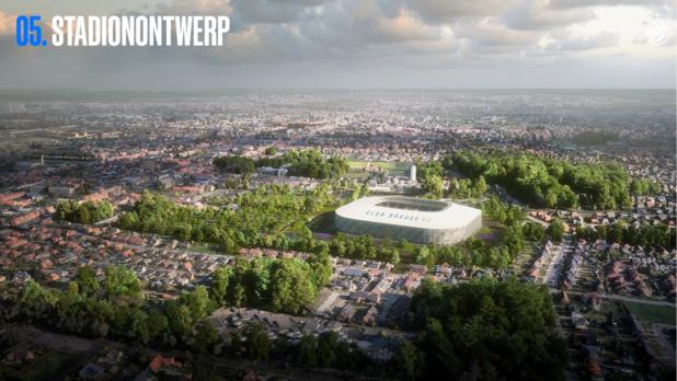 Club Brugge toont revolutionair stadionontwerp aan buurtbewoners