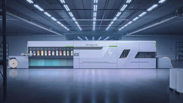 Première pour une presse numérique à étiquettes douze couleurs