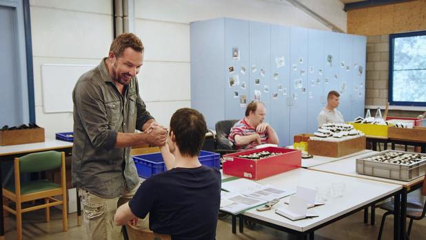 Axel Daeseleire verbleef vijf dagen in De Lovie voor nieuw programma