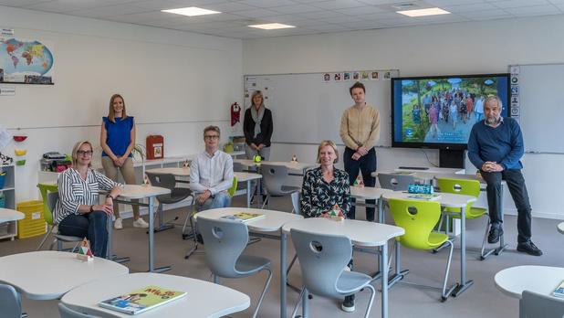 Zesdeklassers vrije basisschool De Vaart starten vandaag in nieuwe afdeling