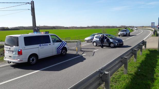 Franse wagens tot de middag tegengehouden in Adinkerke