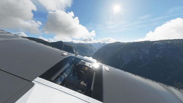 2. Speel Microsoft Flight Simulator