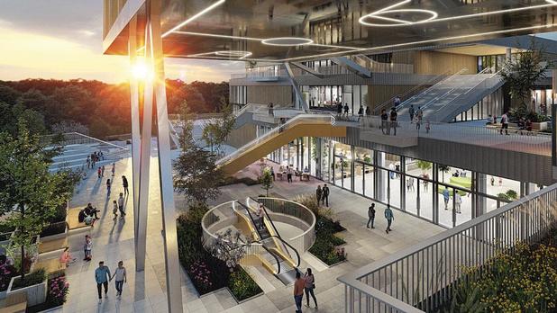 Le shopping Belle-Ile voit la vie en grand à Liège