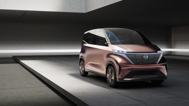 Nissan IMk 'tiny car'