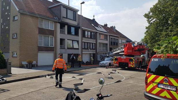 Appartement in de Elzenlaan onbewoonbaar na brand