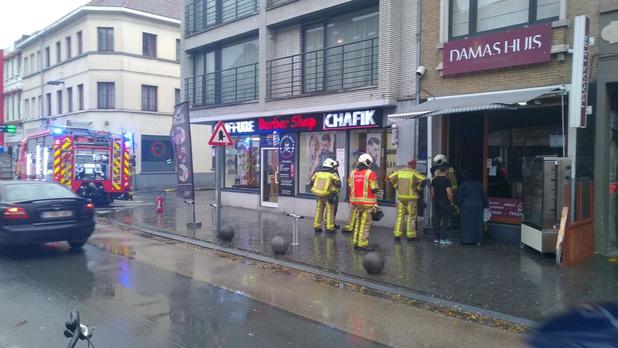 Brand in oosters restaurant op Veemarkt, brandweer breekt barbecue uit