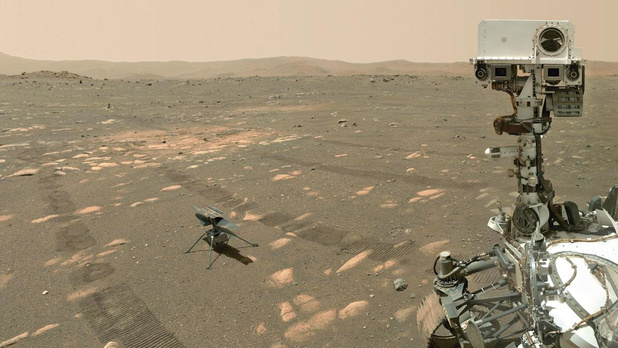 La Nasa a bon espoir que Perseverance ait réussi à prélever de la roche martienne