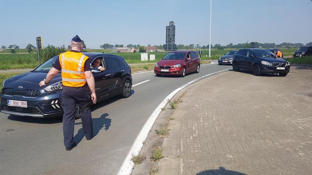 """Ook controle aan afrit Oudenburg: """"Noord-Fransen zijn zich van geen kwaad bewust"""""""