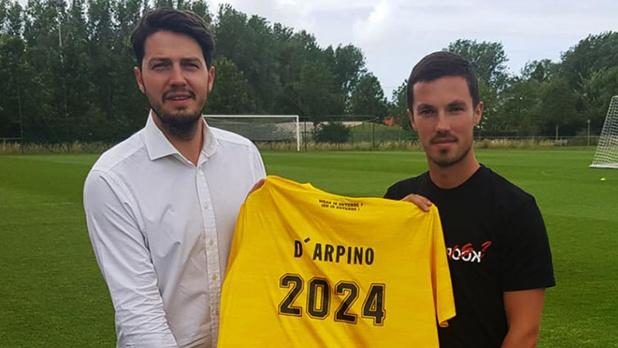 KV Oostende haalt met Maxime D'Arpino middenvelder uit Franse tweede klasse