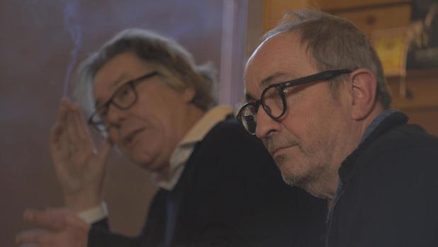 Johan Verminnen met Lieven Coppieters in 'Een eiland vol eenzaamheid'