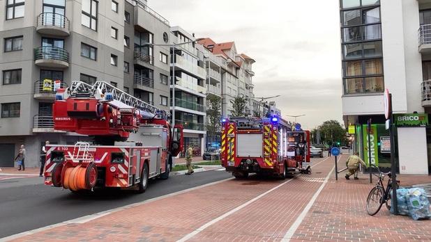 Knokse brandweer rukt uit voor rook zonder vuur