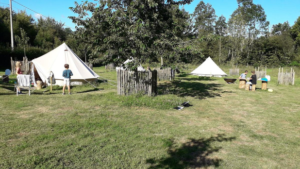 Vlakbij kamperen kan deze zomer in natuurdomein Gasthuisbossen