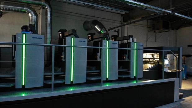 Buroform investeert twee miljoen euro in nieuwe offsetpers