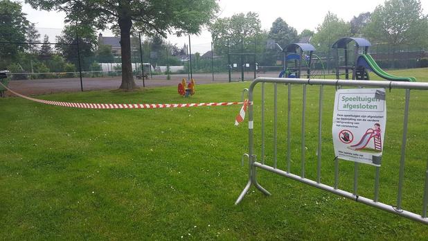 Openbare tennisterreinen in Roeselare blijven voorlopig dicht