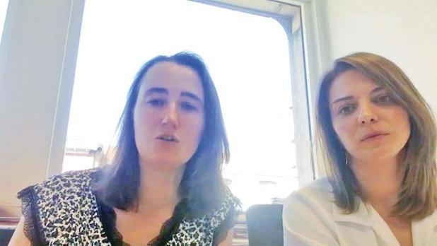 Une sacrée paire d'Audrey, avocates de la Ligue des droits humains par Mélanie Geelkens (chronique)