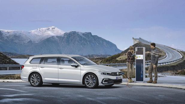La Volkswagen Passat GTE, l'hybride remis à jour