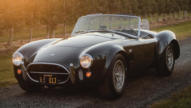 Une Cobra ex-Shelby, en vente ce 15 janvier