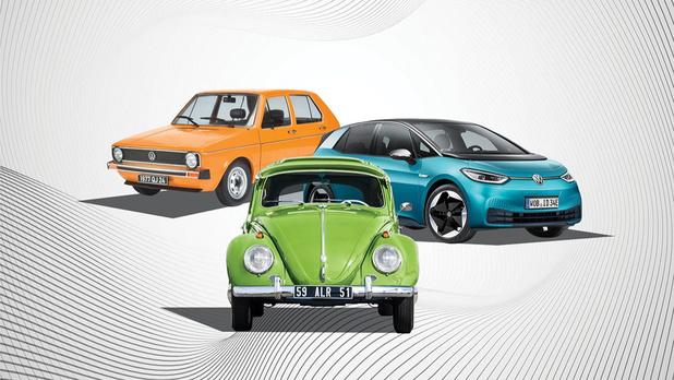 Tentoonstelling Volkswagen Milestones in Autoworld