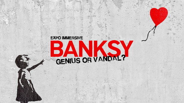 Het beste van Banksy in Brussel