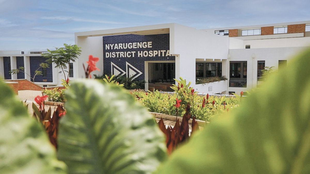 Un hôpital Covid-19 au Rwanda