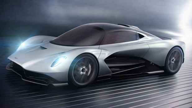 L'Aston Martin Valhalla en 2021