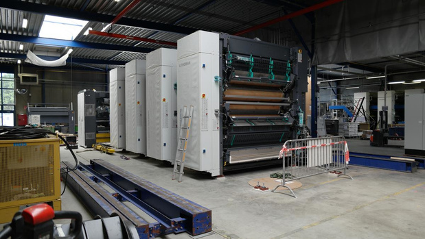 Moderna Printing start met installatie 80 pagina-rotatiepers