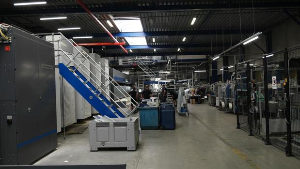 Moderna Printing is gestart met de productie op de nieuwe 80 pagina-rotatiepers