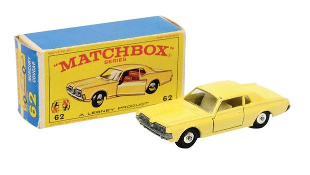 Matchbox, voiturettes et grosse galette