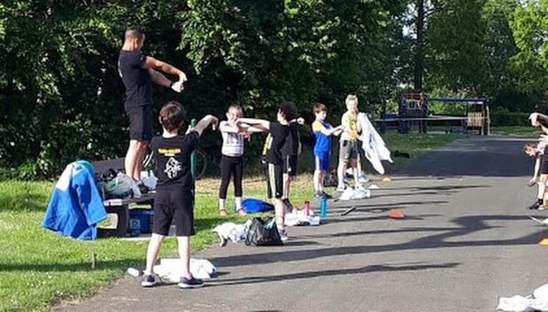 Judoclub Yama Arashi in Bavikhove geeft eerste training in openlucht