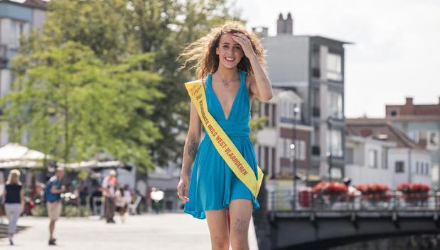 Kortrijkse Noor Beldjoudi wil schitteren voor overleden papa tijdens Miss West-Vlaanderen