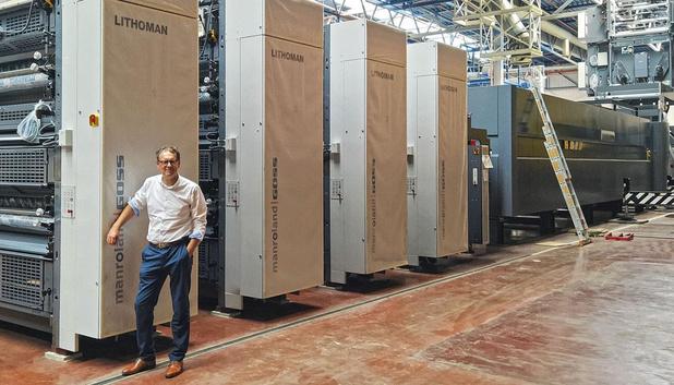 Roularta Printing installe sa troisième rotative LITHOMAN 72