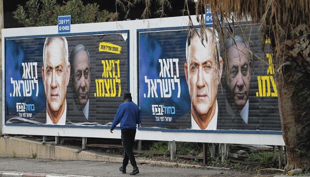En Israël, le dilemme de Benny Gantz