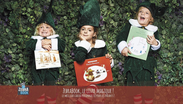 Livres personnalisés: l'aventure ZebraBook